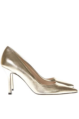 LAMINATE GOLD LEATHER PUMPS SS19 MARC ELLIS | 68 | MA5002VEGASPLATINO