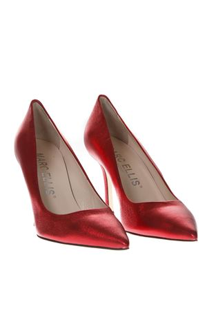 LAMINATE RED LEATHER PUMPS SS19 MARC ELLIS | 68 | MA5002VEGASRED