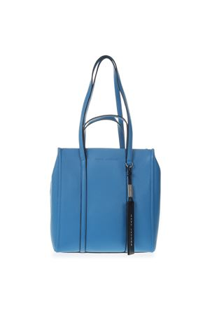 BORSA SHOPPER THE TAG AZZURRA IN PELLE PE 2019 MARC JACOBS | 2 | M0014489THE TAG466