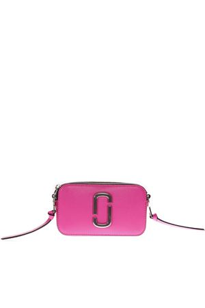 SNAPSHOT PINK FLUORESCENT LEATHER CAMERA BAG SS 2019 MARC JACOBS   2   M0014503SNAPSHOT670