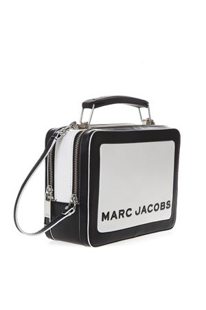 BLACK AND IVORY BOX BAG IN LEATHER SS 2019 MARC JACOBS | 2 | M0014507THE BOX164