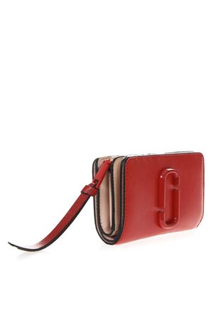 RED LEATHER EMBOSSED LOGO WALLET SS 2019 MARC JACOBS | 34 | M0014528COMPACT937