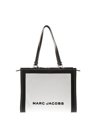 THE BOX WHITE & BLACK LEATHER SHOPPER BAG SS 2019 MARC JACOBS | 2 | M0014536THE BOX164