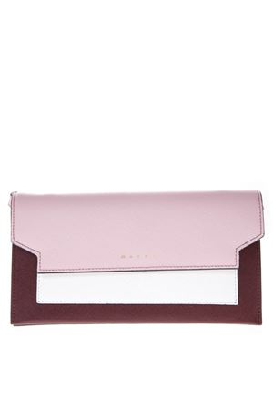 SAFFIANO LEATHER WALLET SS19 MARNI | 34 | PFMOT08U13LV520Z172N