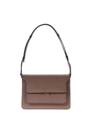 LIGHT BROWN TRUNK BAG IN SAFFIANO CALFSKIN SS 2019 MARNI | 2 | SBMPN09NO1LV520ZC32N