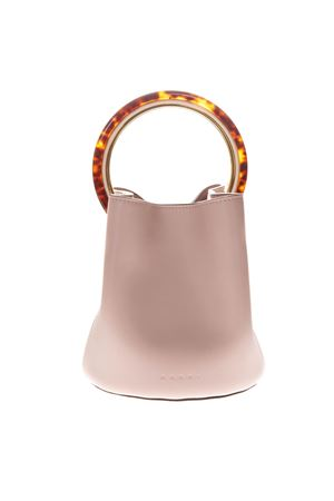 PANNIER PINK LEATHER HANDBAG SS 2019 MARNI | 2 | SCMPU09NO1LV58900C20