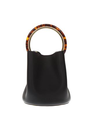 PANNIER MINI BLACK LEATHER BAG SS19 MARNI | 2 | SCMPU09NO1LV58900N99