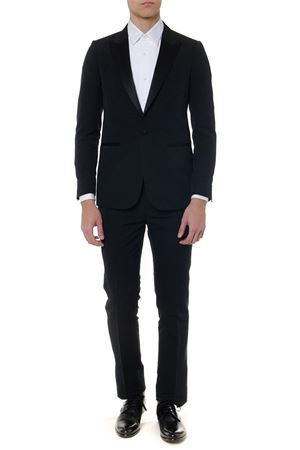 BLACK CLASSIC WOOL SUIT SS19 MAURO GRIFONI | 21 | GE13000525999