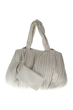 FRANCES PLEATED LEATHER SHOPPER BAG SS19 MAX MARA | 2 | FRANCES155001