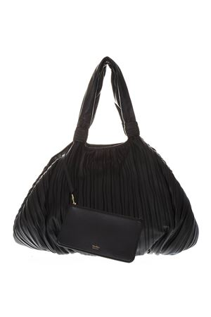 FRANCES PLEATED LEATHER SHOPPER BAG SS19 MAX MARA | 2 | FRANCES155003