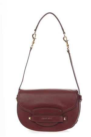BURGUNDY LEATHER BAG SS 2019 MICHAEL MICHAEL KORS | 2 | 30F8G0CM2LUNI610
