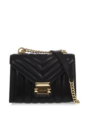a4d80f1a8df610 BLACK WHITNEY QUILTED LEATHER BAG SS19 MICHAEL MICHAEL KORS | 2 |  30F8GXIL1TUNI001 ...