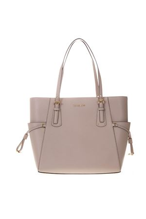 VOYAGER TOTE BAG IN SOFT PINK LEATHER SS 2019 MICHAEL MICHAEL KORS | 2 | 30H7GV6T9LUNI187