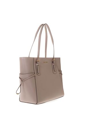 a9970e3af84f VOYAGER TOTE BAG IN SOFT PINK LEATHER SS 2019 - MICHAEL MICHAEL KORS ...
