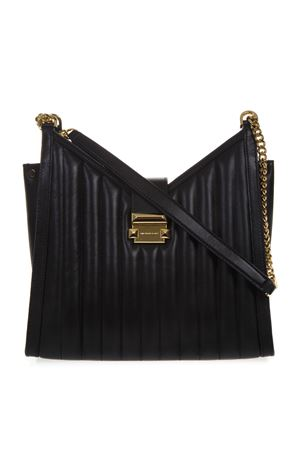 BLACK WHITNEY QUILTED LEATHER BAG SS19 MICHAEL MICHAEL KORS | 2 | 30H8GWHE8TUNI001