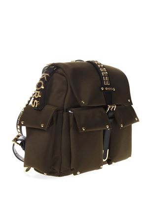 MEDIUM OLIVIA BACKPACK IN SATIN WITH STUDS SS 2019 MICHAEL MICHAEL KORS | 2 | 30S9GOVB2CUNI333