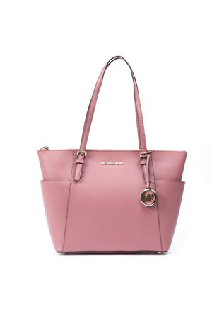 c0a475fb670b2 PINK LEATHER VOYAGER TOTE BAG SS 2019 MICHAEL MICHAEL KORS | 2 |  30T8TTTT8LUNI622 ...