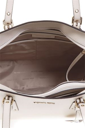 993cc0e60 CREAM LEATHER BAG SS 2019 - MICHAEL MICHAEL KORS - Boutique Galiano