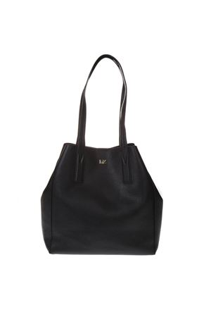 85a3e02d2c40 JUNIE LARGE TOTE BAG IN BLACK HAMMERED LEATHER SS 2019 - MICHAEL ...