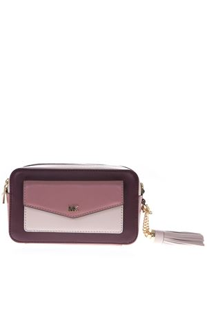 SMALL TRI-COLOR LEATHER CAMERA BAG SS19 MICHAEL MICHAEL KORS | 2 | 32F8GF5M5TUNI891