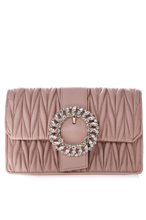 PINK LEATHER QUILTED BAG SS19 MIU MIU  91aa1b5fefdf3