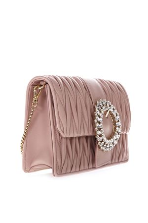 PINK LEATHER QUILTED BAG SS19 MIU MIU | 2 | 5BH095N88F0615