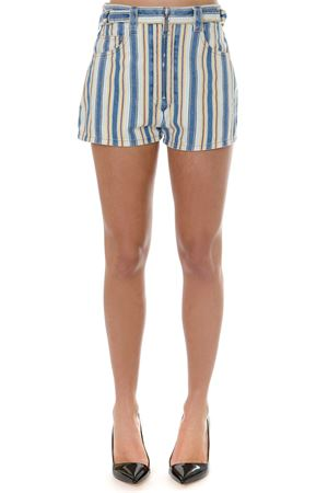 TOPAZ STRIPED SHORTS IN DENIM SS 2019 MIU MIU | 8 | MP12711TG1F0388