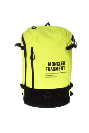 MONCLER FRAGMENT FLUO BACKPACK IN FABRIC SS19 MONCLER GENIUS | 183 | 0061200549ZM1150