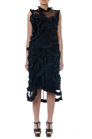 BLACK NYLON 4 MONCLER SIMONE ROCHA DRESS SS19 MONCLER GENIUS | 32 | 6811302549YZ1999