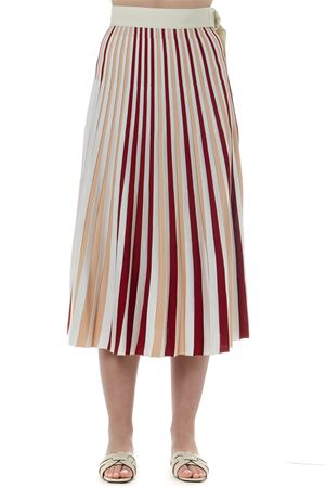 PLEATED COLOR BLOCK SKIRT SS 2019 MONCLER GENIUS | 26 | 9650400999EH1095