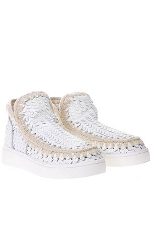 SUMMER ESKIMO SPECIAL LEATHER WHITE LEATHER SHOES SS19 MOU | 48 | MU.SNELOWSPESS/SCA/WHITE SCALES