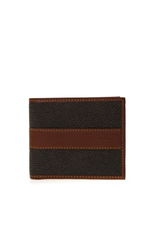 MOLE & COGNAC LEATHER CARD WALLET SS19 MULBERRY | 34 | RL53940011Q330