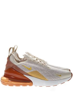 ff79577f4fe1 CREAM AND GOLD SNEAKERS NIKE AIR MAX 270 IN KNIT SS 2019 NIKE