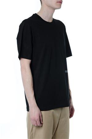 BLACK COTTON LOGO & PATCH T-SHIRT SS19 OAMC   15   OAMO708267001