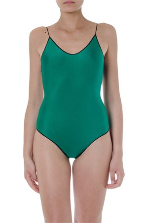 GREEN AND BLACK TRAVAILLE SWIMSUIT SS 2019 OSEREE | 29 | TIS601UNIGREEN