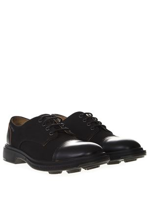 ARCHIVIO BLACK LEATHER SHOE SS19 PEZZOL | 208 | 051FZ10ARCHIVIOBLACK