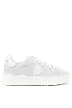 alt='WHITE LUREX FABRIC SNEAKERS FW 2019 PHILIPPE MODEL | 55 | BGLDUNIGX05' title='WHITE LUREX FABRIC SNEAKERS FW 2019 PHILIPPE MODEL | 55 | BGLDUNIGX05'