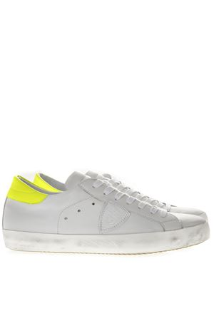 WHITE LEATHER SNEAKERS SS19 PHILIPPE MODEL | 55 | CLLUUNIVN06
