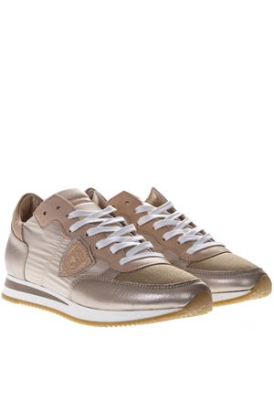 TROPEZ ROSE NYLON   LEATHER SNEAKERS SS 2019 PHILIPPE MODEL  204b5432304