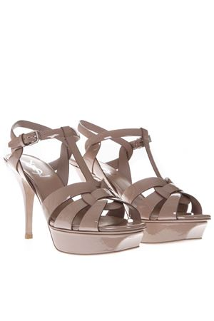 TRIBUTE NUDE PATENT LEATHER SANDALS SS 2019 SAINT LAURENT | 87 | 457755B8I009935