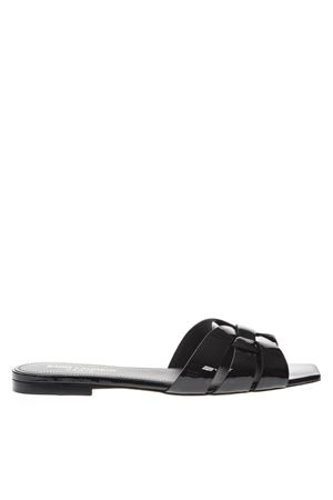NU PIEDS 05 TRIBUTE BLACK PATENT LEATHER SANDALS SS 2019 SAINT LAURENT | 87 | 472064B8I001000