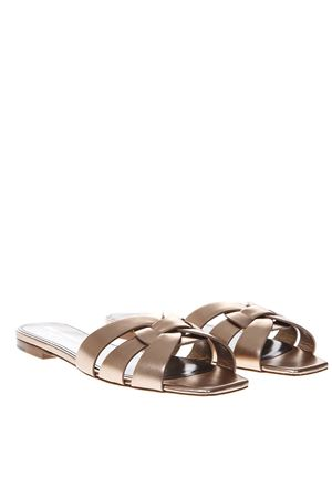 NU PIEDS METAL BLUSH LEATHER SANDALS SS 2019 SAINT LAURENT | 87 | 5276870PS006703