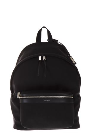 CITY BLACK NYLON & LEATHER BACKPACK SS 2019 SAINT LAURENT | 2 | 534967GIV3F1000