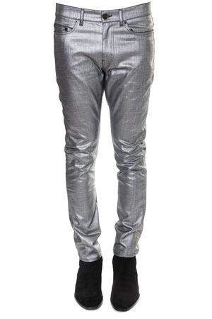 JEANS SILVER METALLIZZATI IN COTONE PE 2019 SAINT LAURENT | 4 | 559710Y999T8028