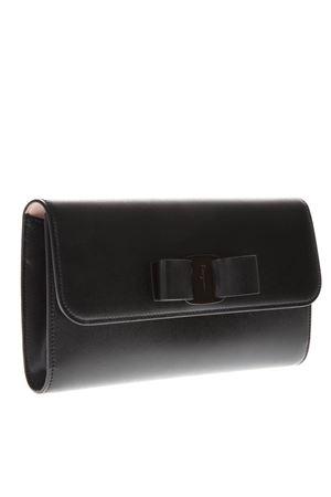 BLACK LEATHER BAG SS19 SALVATORE FERRAGAMO | 2 | 22D523034NERO