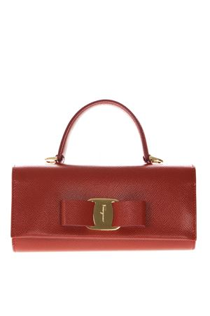 RED LEATHER VERSATILE HANDBAG SS19 SALVATORE FERRAGAMO | 2 | 22D529056LIPSTICK