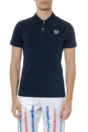 WHITE COTTON LOGO POLO SHIRT SS19 SERGIO TACCHINI | 11 | 366421000