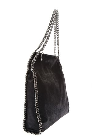 ... MEDIUM FALABELLA BLACK SHAGGY FAUX DEER BAG SS 2019 STELLA McCARTNEY  ab2b8a8fc6b1a