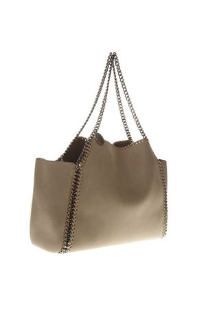 ... CREAM FEAUX-LEATHER FALABELLA TOTE BAG SS 2019 STELLA McCARTNEY  b7a1101e265b9