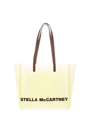 TRANSPARENT PASTEL YELLOW TOTE BAG WITH LOGO PRINT SS 2019 STELLA McCARTNEY | 2 | 541618W84917021